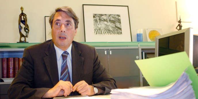 Michel Destot, maire de Grenoble, en juin 2007.