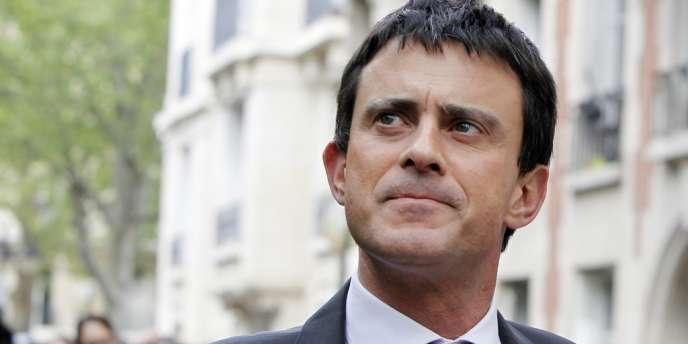 Manuel Valls, le 7 mai 2012, à Paris.