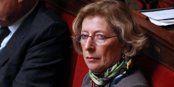 Geneviève Fioraso à l'Assemblée nationale le 16 novembre 2011.