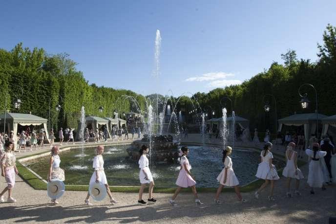Défilé Chanel, le 14 mai.