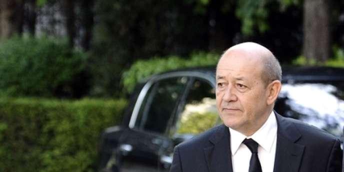 Jean-Yves Le Drian, le 17 mai.