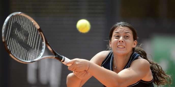 Marion Bartoli s'est écroulée face à l'Allemande Julia Goerges au deuxième tour du tournoi de Rome, le 16 mai. En cause : une laryngite.