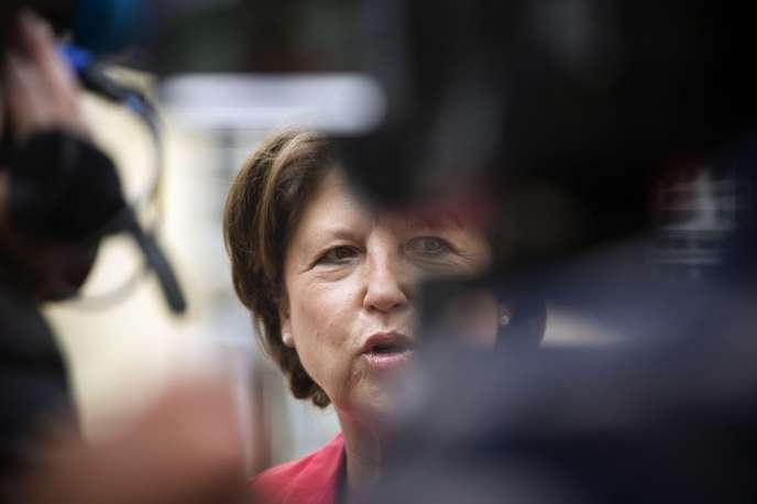 Martine Aubry à Matignon, le 18 mai 2012.