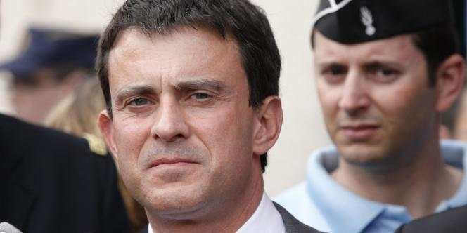 Manuel Valls, le 17 mai 2012.
