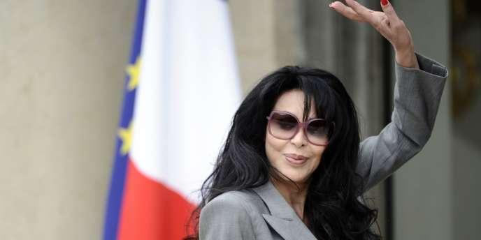 La ministre déléguée chargée de la francophonie, Yamina Benguigui, à l'Elysée, à Paris, en mai2012.