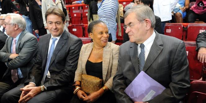 La garde des sceaux du gouvernement Ayrault a assisté, vendredi, à la finale du Challenge national de basket pénitentiaire au Palais omnisports de Bercy.