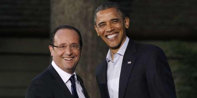 François Hollande et Barack Obama le 18 mai 2012.