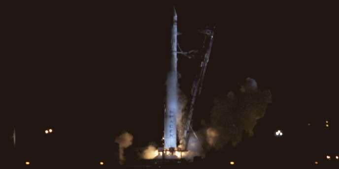 Le lancement de la fusée Falcon 9 de la société privée SpaceX vers l'ISS a été annulé au dernier moment samedi 19 mai.