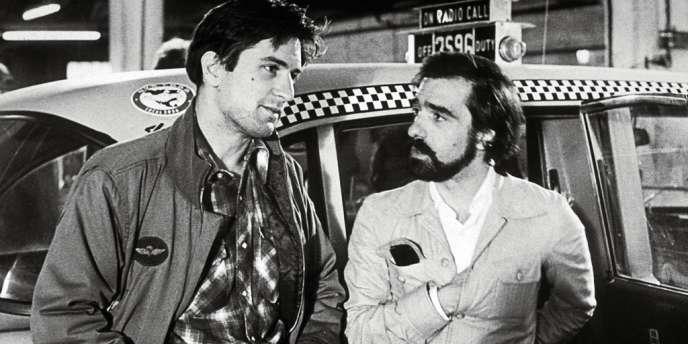 Robert De Niro et Martin Scorsese sur le tournage de
