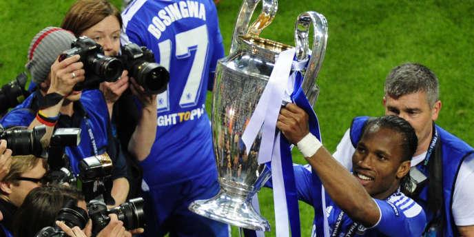 Didier Drogba héros de la finale de Ligue des champions, le 19 mai à Munich.