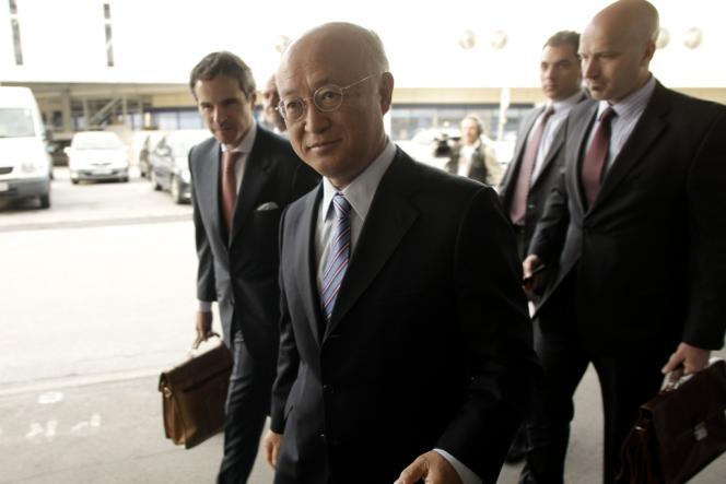 Le directeur général de l'Agence internationale de l'énergie atomique, Yukiya Amano, à Téhéran, en mai 2012.