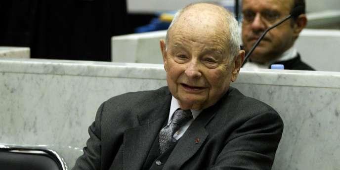 Jacques Servier a été mis en examen, le 11 décembre 2012, pour