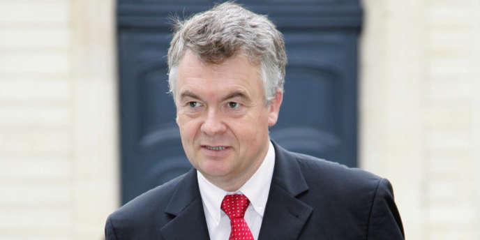 Le député UMP de la 10e circonscription de Gironde Jean-Paul Garraud
