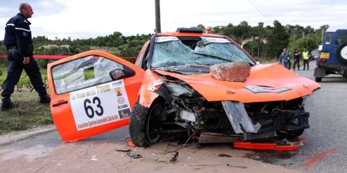 La voiture a foncé dans la foule de Draguignan.
