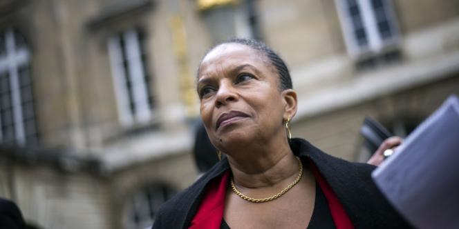 La garde des Sceaux, Christiane Taubira, a annoncé la création d'une peine de probation.