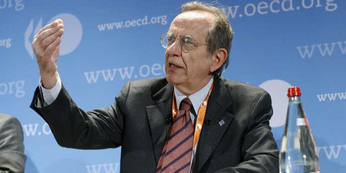 Pier Carlo Padoan, ministre italien de l'économie et des finances.