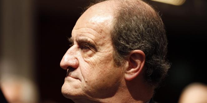 Pierre Lescure à Paris, le 3 mai 2012.