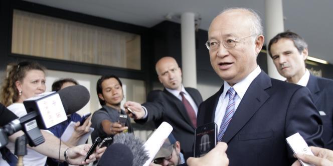Le directeur de l'Agence internationale de l'énergie atomique (AIEA), dimanche à Vienne, avant son départ pour une visite surprise en Iran, lundi 21 mai.