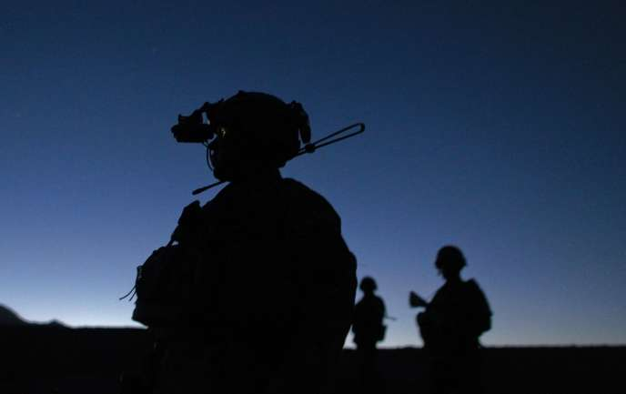 Patrouille mixte de l'armée afghane et de l'armée américaine, dans l'est de l'Afghanistan, le 22 mai.