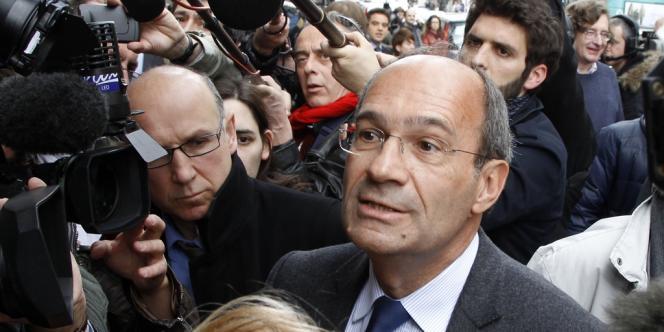 Eric Woerth, le 7 mai à Paris, au lendemain de la défaite de Nicolas Sarkozy à la présidentielle.