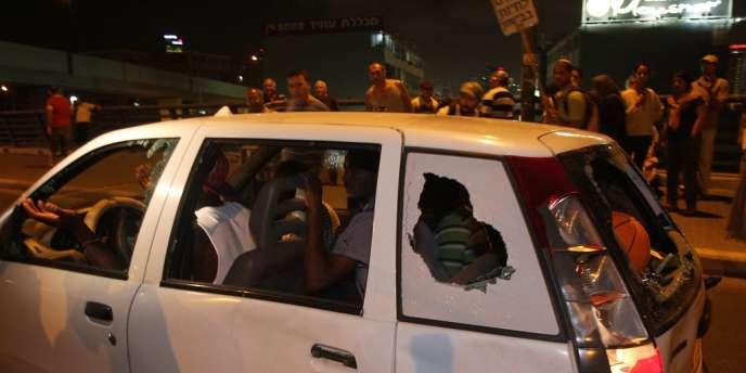 Mercredi 23 mai, près d'un millier de manifestants israéliens ont défilé dans le sud de Tel-Aviv aux cris notamment de