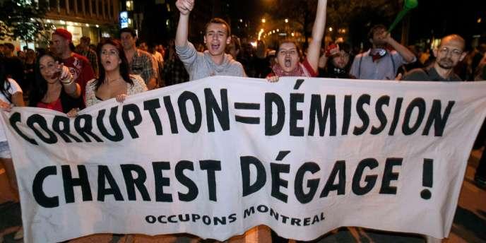 A Montréal, mercredi soir 23 mai 2012.