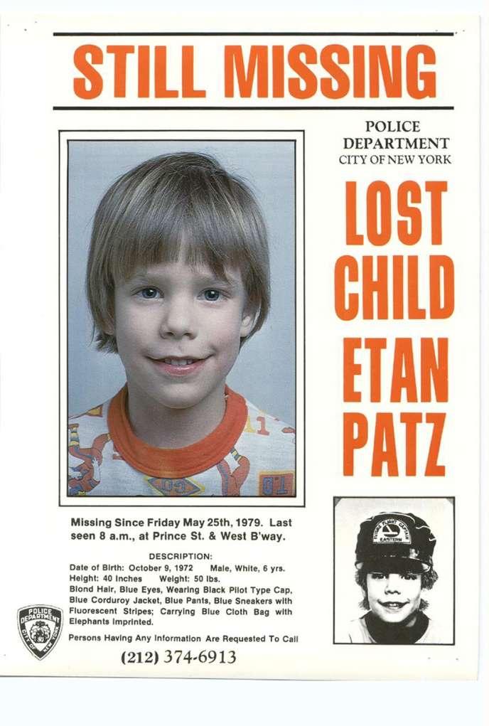 A New York Un Suspect Arrete Dans L Affaire Etan Patz