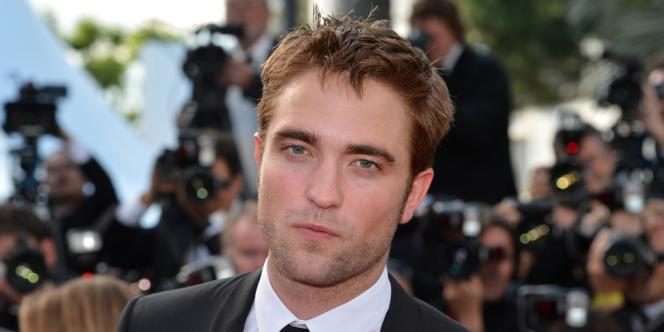 Robert Pattinson au 65e Festival de Cannes, le 23 mai 2012.