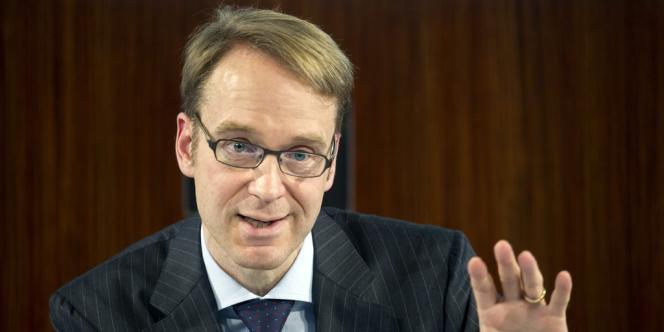Jens Weidmann préside la Bundesbank, une institution très respectée outre-Rhin, gardienne de l'orthodoxie monétaire.