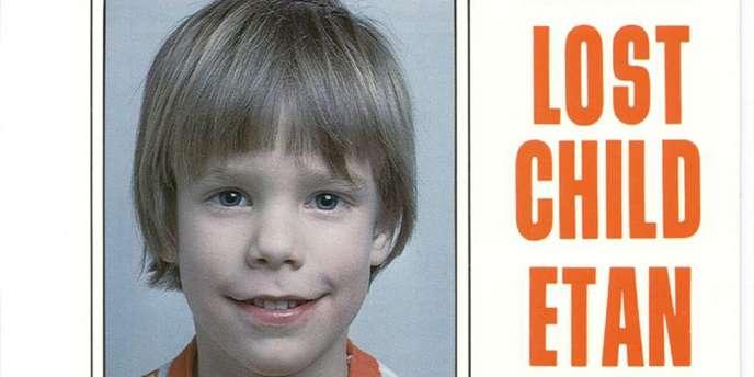 Le petit Etan Patz, disparu le 25 mai 1979 à New York, à l'âge de six ans.