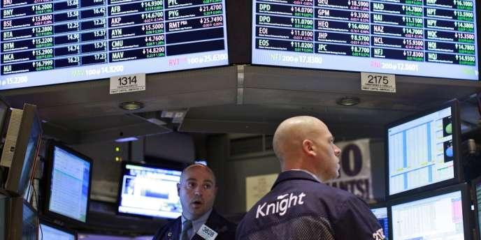 Plusieurs analystes évoquent le risque de démantèlement du groupe au profit de ses concurrents, alors que l'action Knight a perdu plus de 70 % de sa valeur depuis la semaine dernière.