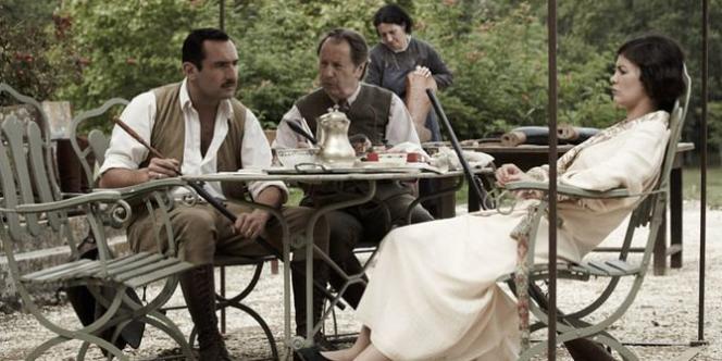 Audrey Tautou et Gilles Lellouche dans le film français de Claude Miller,