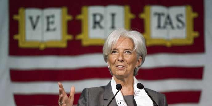 La directrice générale du Fonds monétaire international, Christine Lagarde, le 23 mai.