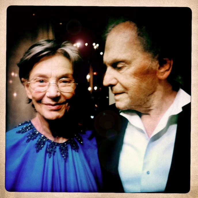 Emmanuelle Riva et Jean-Louis Trintignant à qui Nanni Moretti a rendu hommage en décernant la Palme d'or à Michael Haneke dont ils sont les acteurs dans