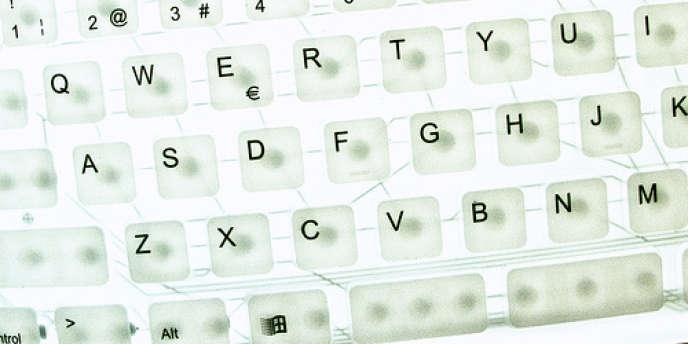 Un clavier Qwerty.