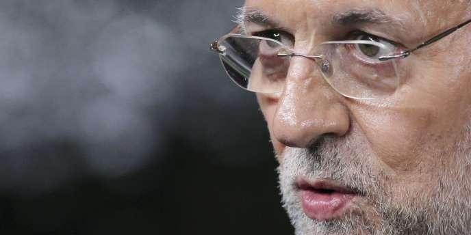 Le chef du gouvernement, Mariano Rajoy, a reconnu lundi que, pour le pays, il était
