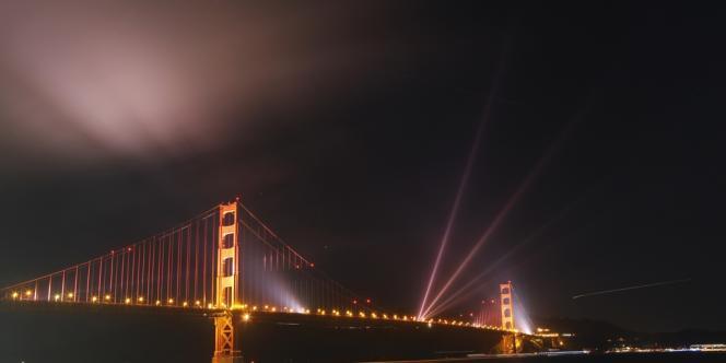 Le pont du Golden Gate, à San Fancisco.
