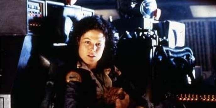 Sigourney Weaver dans le film américain de Ridley Scott,