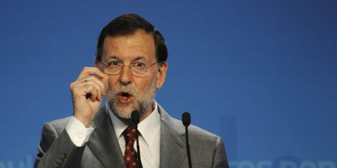 Mariano Rajoy a salué