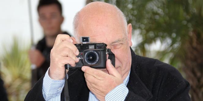 Raymond Depardon, lors du festival de Cannes, le 22 mai.