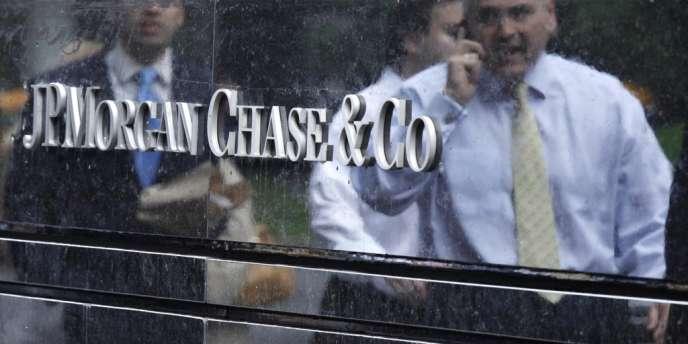 Le siège de JP Morgan à New York le 22 mai 2012. REUTERS / Eduardo Munoz