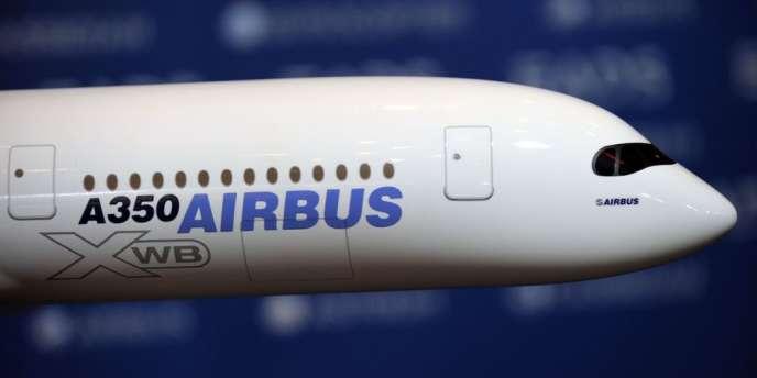 L'A350 confirme qu'il s'impose comme un nouveau « best-seller » d'Airbus après l'A320.