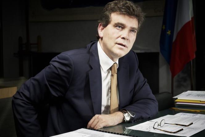 Arnaud Montebourg, le ministre du redressement productif.
