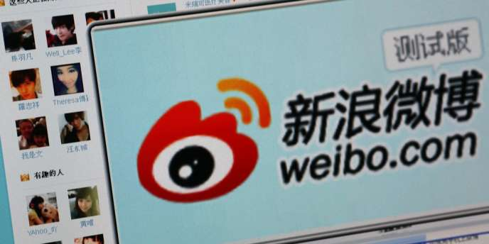 Le site de micromessagerie Weibo compte 350 millions d'utilisateurs en Chine.