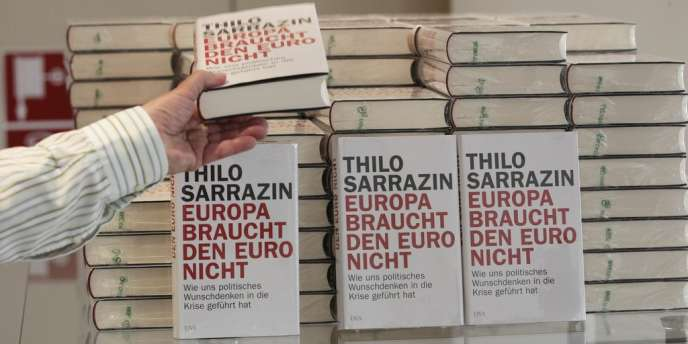 Le dernier livre de l'économiste social-démocrate Thilo Sarrazin :