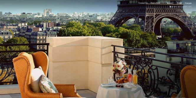 Image promotionnelle de l'hôtel Shangri-La de Paris.
