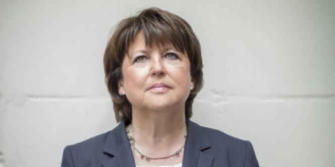 Martine Aubry, à Lille le 31 mai.