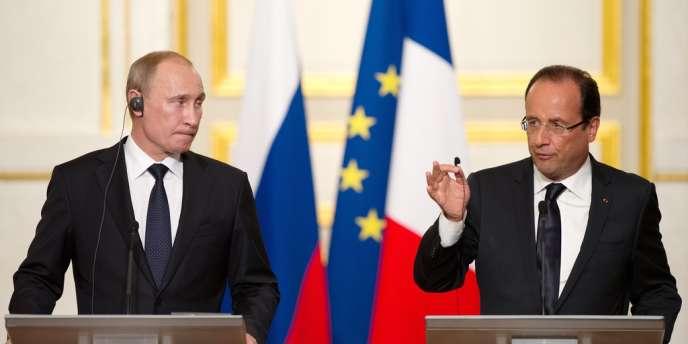 François Hollande, a déclaré mardi ne pas exclure une intervention armée en Syrie à condition qu'elle soit décidée dans le cadre de l'ONU.