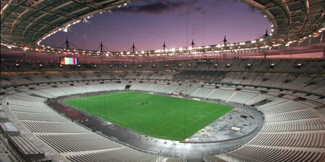 Le Stade de France, le 14 janvier 1998.