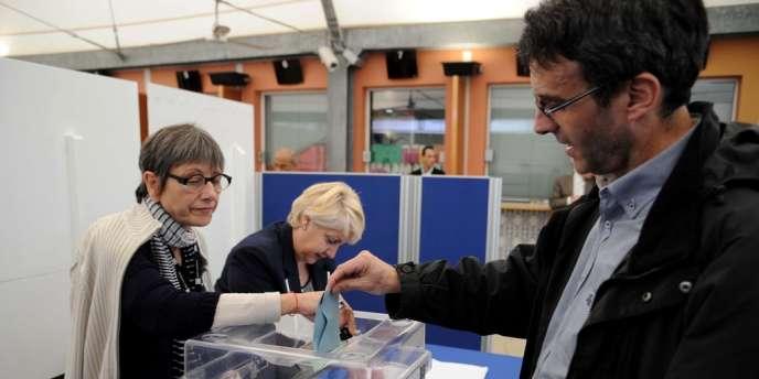 Elections pour le député représentant les français de l'étranger au consulat français d'Alger, le 6 mai
